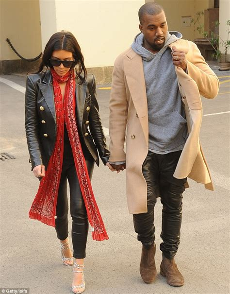 Kanye West shows first glimpse of his wedding ring but Kim ...