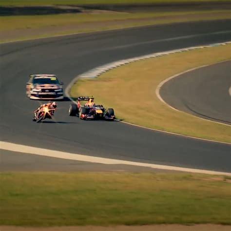 F1 Vs Speedbike Vs Supercar [video]