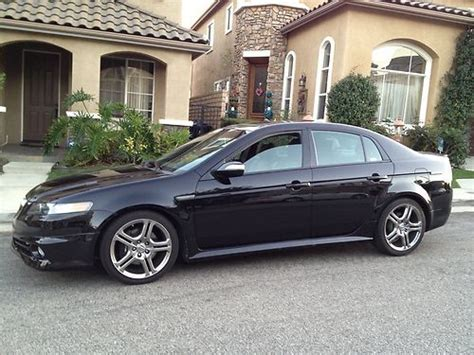 Sell Used 2008 Acura Tl Type S A-spec 6 Speed Manual With
