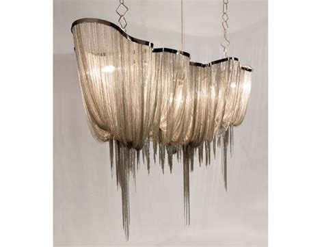 atlantis chandelier atlantis sculptural chain chandelier by barlas baylar for