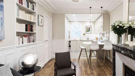 cuisine dans salon aménagemer une cuisine ouverte en longueur pas cher