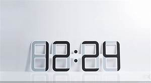 Cool Digital Wall Clocks | Best Decor Things