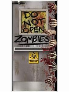 Decoration De Porte : d coration de porte laboratoire zombie halloween d coration anniversaire et f tes th me sur ~ Teatrodelosmanantiales.com Idées de Décoration