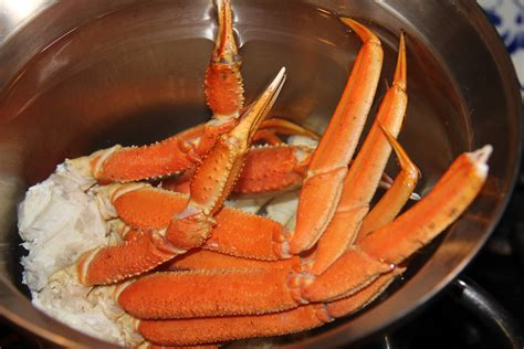 cooking crablegs snow crab legs kath s kitchen sync