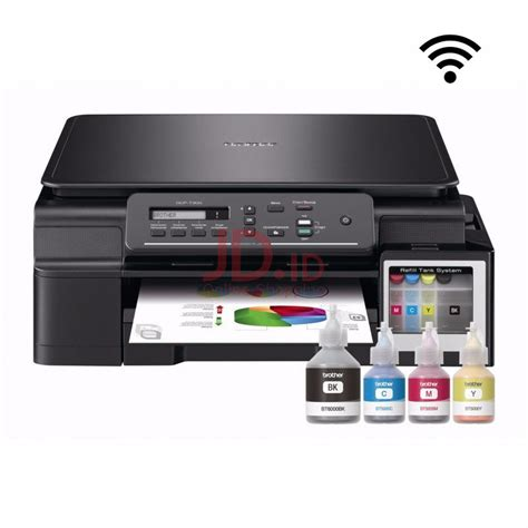 Printer Dcp T500w Black jual color dcp t500w all in one printer wifi jd id