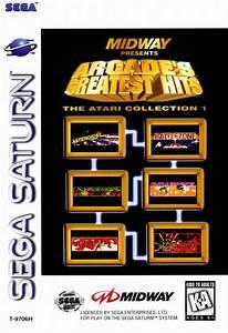 Arcade's Greatest Hits Atari Collection Sega Saturn Game