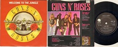 Guns N Roses Welcome To The Jungle Records, Vinyl and CDs ...