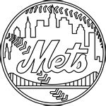 Logo of New York Yankees coloring page printable game | 150x150