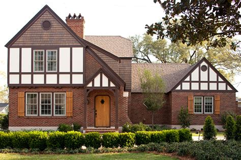 front porches on colonial homes get the look tudor style traditional home