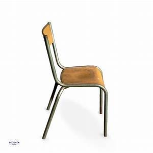 Chaise D école : chaises ecole mullca de ci de a design meubles et objets du 20 me si cle ~ Teatrodelosmanantiales.com Idées de Décoration
