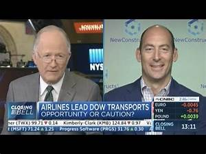 David Trainer Discusses Airline Valuation's on CNBC's ...