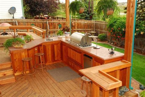 amazing outdoor kitchen ideas planted