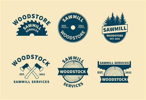 sawmill logo vectors   vectors clipart