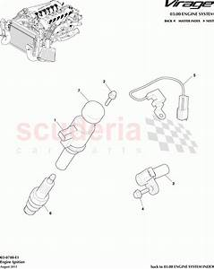 Aston Martin Virage Engine Ignition Parts