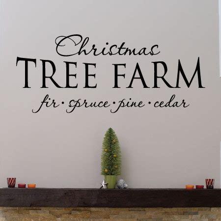 christmas tree farm wall quotes decal wallquotes com