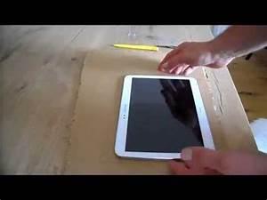 Tablet Halter Holz : diy tablet halter handy halter ganz einfach selber machen aus pappe youtube ~ A.2002-acura-tl-radio.info Haus und Dekorationen
