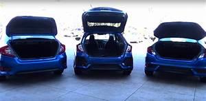 2017 Honda Civic Hatchback vs Sedan vs Coupe Comparison