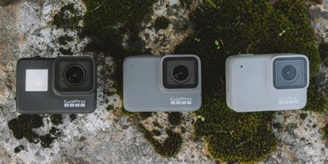 gopro hero black silver white compared rei op