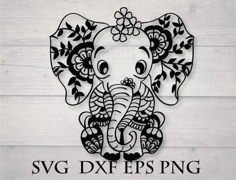 Free download 36 best quality animal mandala coloring pages at getdrawings. Baby elephant svg, mandala animal svg