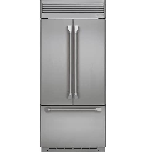 monogram  built  french door refrigerator zippnhss ge appliances