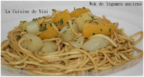 cuisine de nini wok de légumes anciens la cuisine de nini
