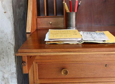 decapar muebles dominique restauración de un buró de madera de nogal