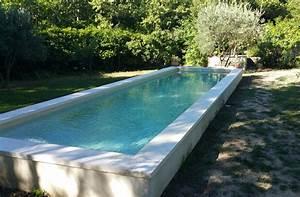 Beton Ciré Piscine : accueil nuances de bleu constructeur piscine en dur ~ Melissatoandfro.com Idées de Décoration