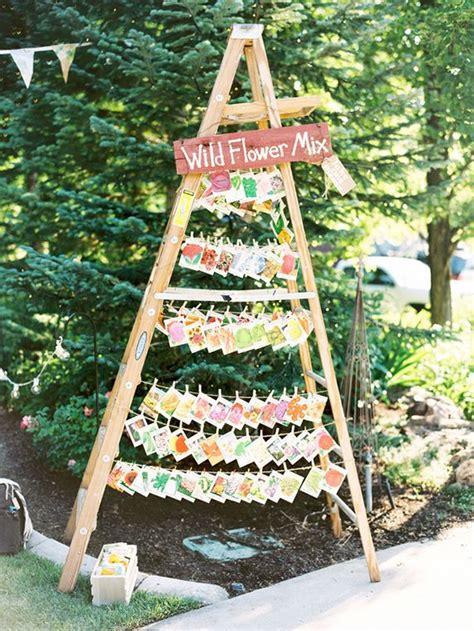 40 chic ways to use ladder rustic country weddings deer pearl flowers