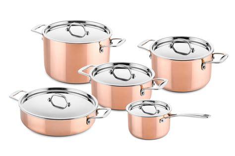 copper pots pans set bruin blog