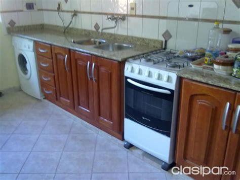 muebles de cocina  mesada de granito natural
