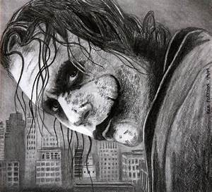 Heath Ledger -Joker by Doctor-Pencil on DeviantArt