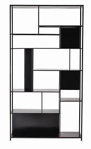 Metal Shelf Unit In Black Nel 2020