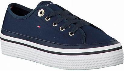 Hilfiger Sneakers Tommy Flatform Sneaker Blauwe Corporate