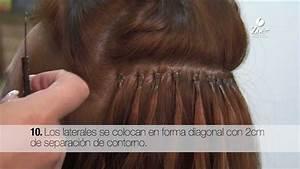 Como poner Extensiones de Cabello Natural Ondulado Sintetico Zoé Professional Nails & Hair