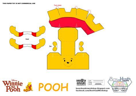 Winnie The Pooh Templates by Boxes Header Workshop Disney Winnie The Pooh