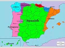 Languages of Spain and Portugal – SB Language Maps