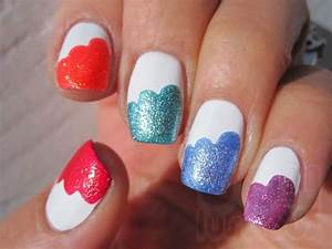 Easy Nail Polish Designs At Home | Nail Designs, Hair ...