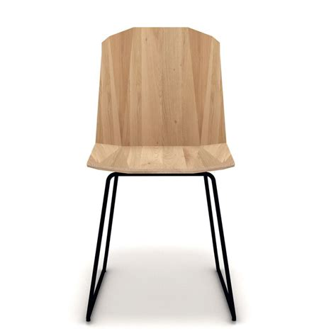 chaise en chêne massif chaise facette ethnicraft chaise en chêne massif et pied