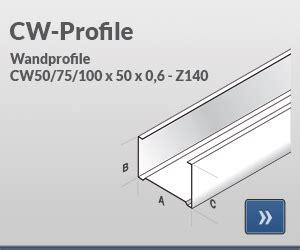 uw cw profil unterschied jaha profile hersteller profilen f 252 r den innenausbau