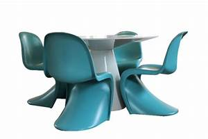 Panton Chair Original : 6 original vitra panton chairs retrohaus ~ Michelbontemps.com Haus und Dekorationen