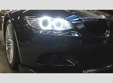 BMW M3 ONEighty Custom Headlights e90 e92 e93 LED Angel