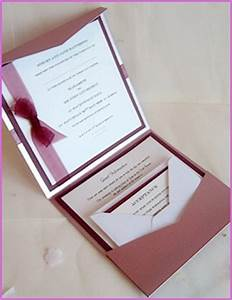 wedding stationery pocket beau pocketfold invitation With wedding invitation wallets uk diy