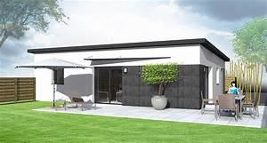 Maison moderne sans toit plat maison moderne for Plan de maison sans toit