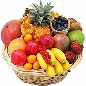 Panier A Fruit : panier de fruits exotique ~ Teatrodelosmanantiales.com Idées de Décoration