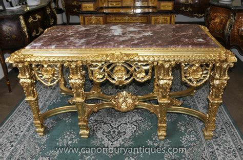 French Louis Xv Gilt Console Table Tables Baroque Hall