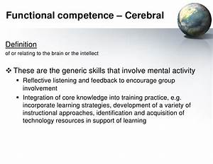 Towards A Holis... Competency Definition