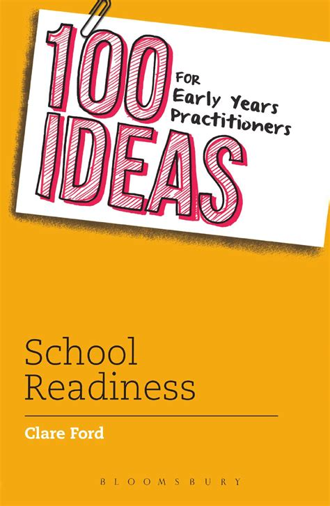 100 Ideas For Early Years Practitioners School Readiness By Bloomsbury Publishing Issuu