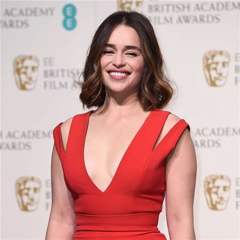 'game Of Thrones' Star Emilia Clarke Has Bangs