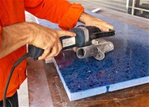 Polishing Countertops by How To Concrete Countertop 485x350 Concrete Exchange