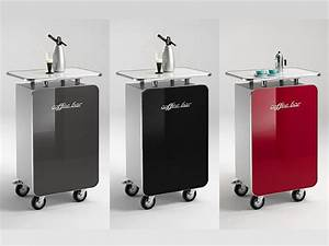 Theke Mit Rollen : office bar auf rollen mobile coffe bar hochglanz lackiert in vier farben ~ Sanjose-hotels-ca.com Haus und Dekorationen